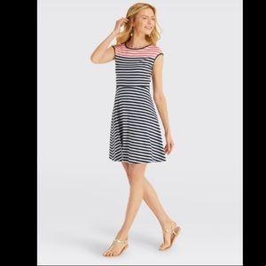 🆕Draper James Striped Ponte Dress